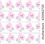 seamless floral pattern.... | Shutterstock .eps vector #620462720