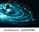 best internet concept of global ... | Shutterstock . vector #620469080