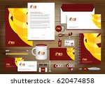 vector abstract stationery... | Shutterstock .eps vector #620474858