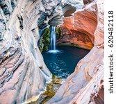 hamersley gorge  spa pool ...   Shutterstock . vector #620482118