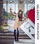 olivia culpo. september 19 ... | Shutterstock . vector #620489780