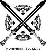 fantasy swords. third variant....   Shutterstock .eps vector #62052271