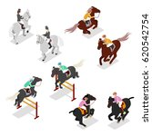 equestrian sports   polo ... | Shutterstock .eps vector #620542754