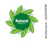 logo natural product | Shutterstock .eps vector #620544998