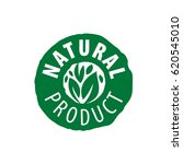 logo natural product | Shutterstock .eps vector #620545010