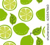 fresh print with lime. seamless ... | Shutterstock .eps vector #620547860