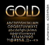 vector set of shiny gold... | Shutterstock .eps vector #620549684