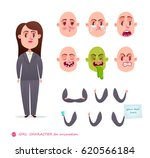 girl character for your scenes... | Shutterstock .eps vector #620566184