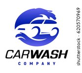 carwash company emblem. auto... | Shutterstock . vector #620570969