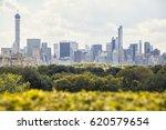 manhattan skyscrapers over the... | Shutterstock . vector #620579654