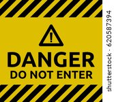 do not enter sign | Shutterstock .eps vector #620587394