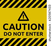 do not enter sign | Shutterstock .eps vector #620587433