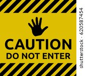 do not enter sign | Shutterstock .eps vector #620587454