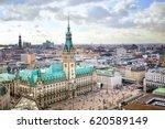 Hamburg city hall, Germany