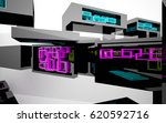 abstract dynamic interior with... | Shutterstock . vector #620592716