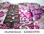Small photo of Embroidery collar