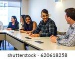 washington dc   circa april... | Shutterstock . vector #620618258
