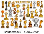 vector illustration of sticker... | Shutterstock .eps vector #620623934