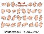 vector illustration of sticker... | Shutterstock .eps vector #620623964