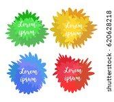 set of templates  logos  signs. ... | Shutterstock .eps vector #620628218