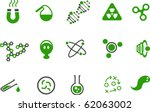 vector icons pack   green... | Shutterstock .eps vector #62063002