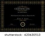 vector certificate of diploma... | Shutterstock .eps vector #620630513