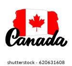 canada hand drawn ink brush... | Shutterstock .eps vector #620631608