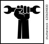 fist revolution symbol with...   Shutterstock .eps vector #620634830