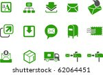 Vector Icons Pack   Green...
