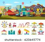 Urban Amusement Park Concept...
