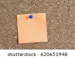 Time Management Concept With  Reminder Color Paper On Cork Board - stock photo