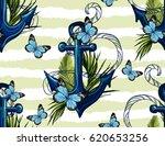 beautiful seamless vector...   Shutterstock .eps vector #620653256