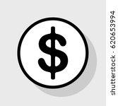 dollars sign illustration. usd... | Shutterstock .eps vector #620653994
