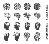 brain icon | Shutterstock .eps vector #620655368