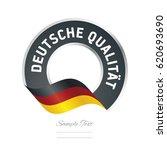 german quality  german language ... | Shutterstock .eps vector #620693690