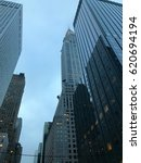 tall buildings in new york city | Shutterstock . vector #620694194