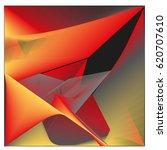 vector 3d graphic background... | Shutterstock .eps vector #620707610