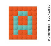 square constructor element with ... | Shutterstock .eps vector #620713580