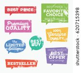 set of retail tags. colorful...   Shutterstock .eps vector #620715398