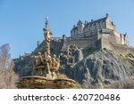 The Ross Fountain And Edinburg...