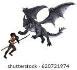 Fantasy Illustration Of A...