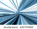 rail track and cityscape of... | Shutterstock . vector #620745083