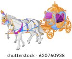 the golden carriage of... | Shutterstock .eps vector #620760938