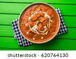 paneer butter masala or cheese... | Shutterstock . vector #620764130