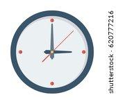 clock flat vector icon   Shutterstock .eps vector #620777216