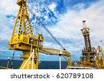 crane  pedestal crane winch ... | Shutterstock . vector #620789108