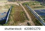 aerial bird view flying over... | Shutterstock . vector #620801270
