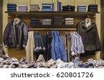men casual clothing shop | Shutterstock . vector #620801726