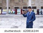 istanbul  turkey   7 april  ... | Shutterstock . vector #620816144