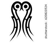 tribal tattoo art designs....   Shutterstock .eps vector #620823524